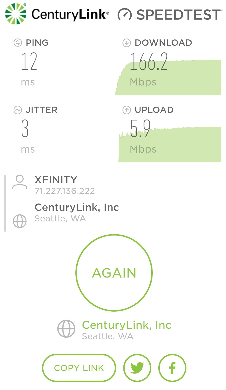 CenturyLink Speed Test Review