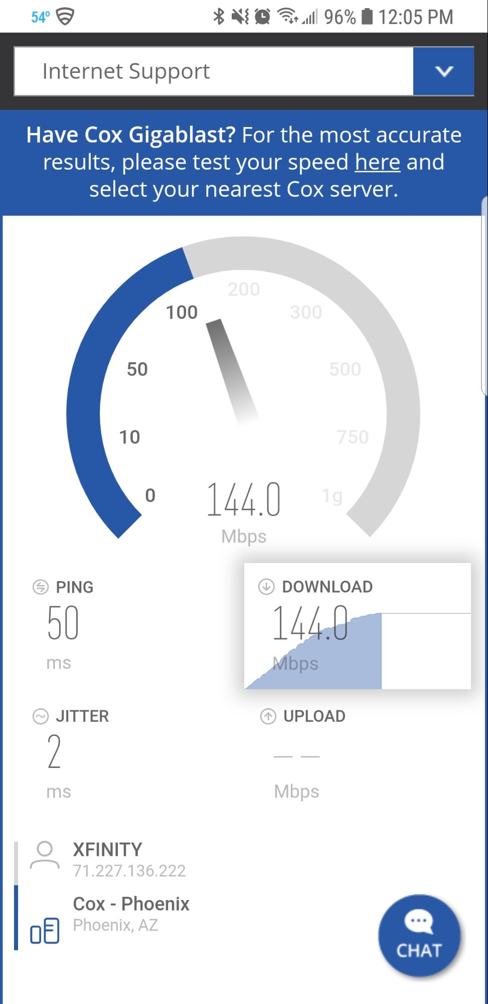COX Speed Test Review
