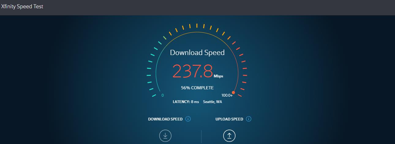 Xfinity Speed Test Review